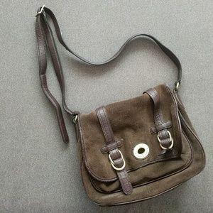 Etienne aigner satchel over the shoulder purse